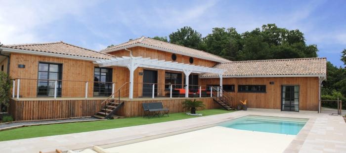 Réhabilitation et extension d'une maison individuelle