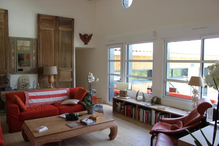 Réhabilitation et extension d'une maison individuelle :  002