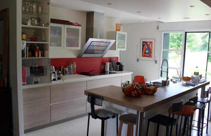 Réhabilitation et extension d'une maison individuelle : 005