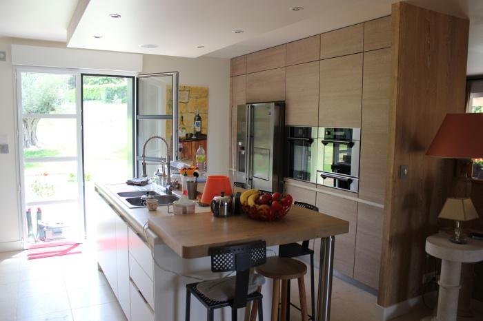 Réhabilitation et extension d'une maison individuelle :  006