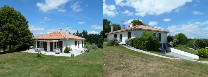 Réhabilitation et extension d'une maison individuelle : existant