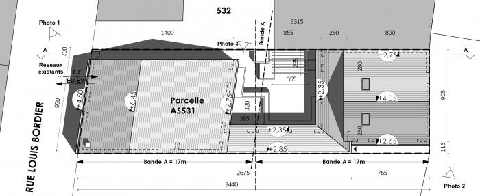 Réhabilitation d'une échoppe double avec patio : 2