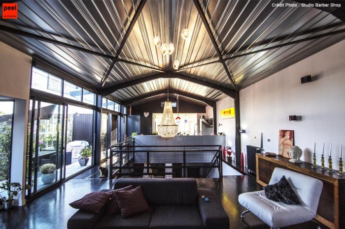 Habitat metal bruges une r alisation de peel architectes - Salon habitat bordeaux ...
