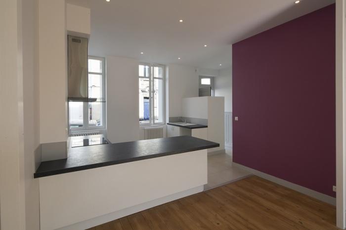 Réaménagement d'une maison d'habitation : cuisine