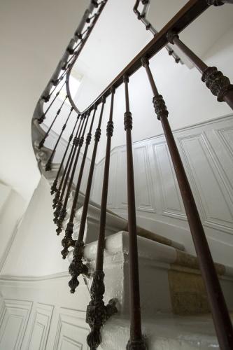 Réaménagement d'une maison d'habitation : escalier 1