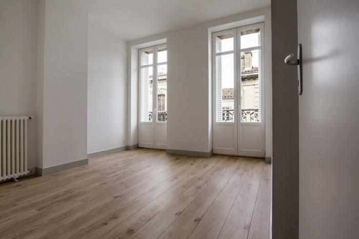Réaménagement d'une maison d'habitation : chambre 1