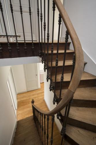 Réaménagement d'une maison d'habitation : escalier 2