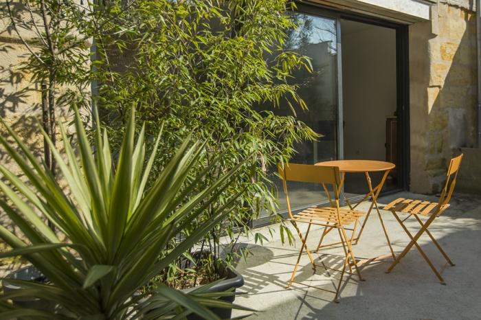 Surélévation et réaménagement  d'une maison d'habitation : terrasse