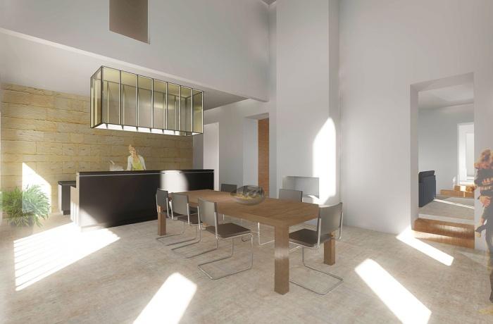Rehabilitation d'une maison et création d'une salle de réception : lalande1_6