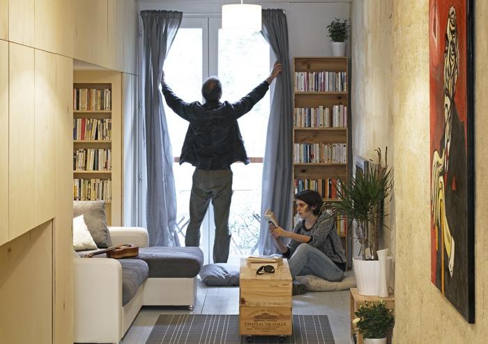 maison troite bordeaux une r alisation de brachard de tourdonnet architectes. Black Bedroom Furniture Sets. Home Design Ideas