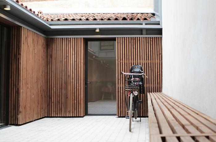 maison à ossature bois - Bordeaux