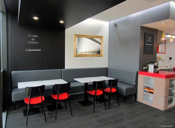 restaurant taillan m doc le une r alisation de linxe. Black Bedroom Furniture Sets. Home Design Ideas