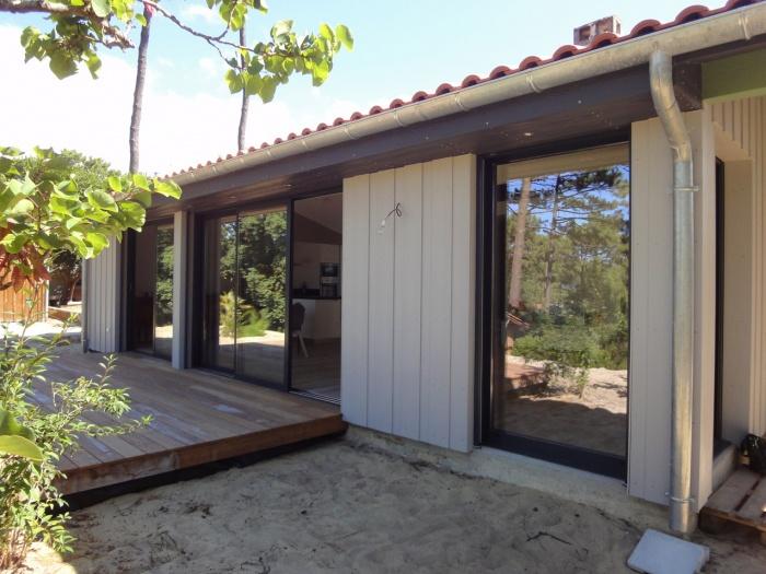 Extension d'une villa canon au Cap-Ferret 2014 : DSC05196.JPG