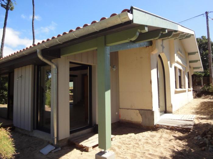 Extension d'une villa canon au Cap-Ferret 2014 : DSC05195.JPG