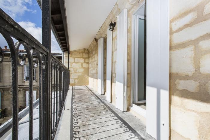 Réaménagement d'un appartement : terrasse