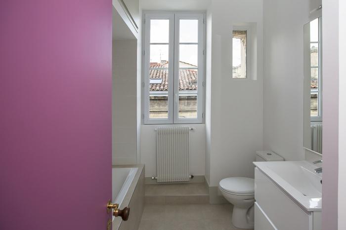 Réaménagement d'un appartement : salle de bain