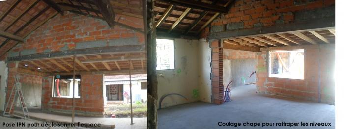 Réhabilitation d'une échoppe double avec patio : pano demo copy