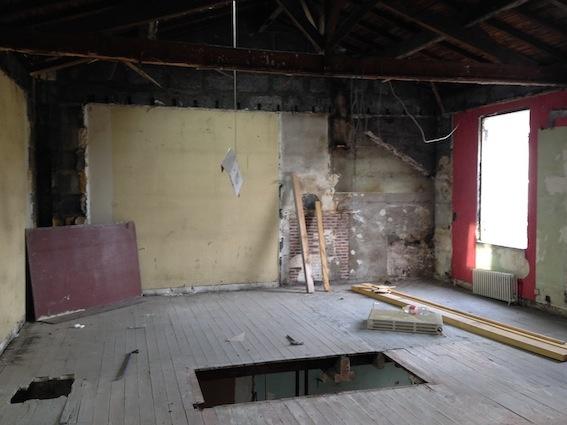 Rénovation échoppe F : Etage