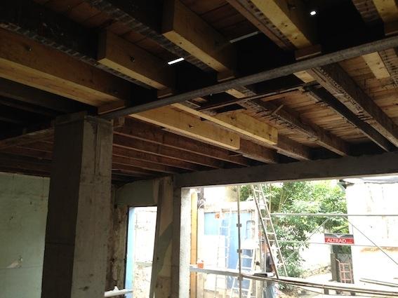 Rénovation échoppe F : Détail plancher