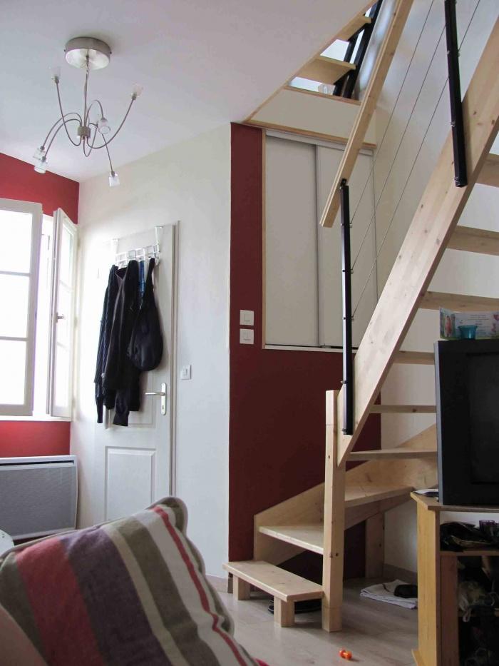 Maison en long cognac une r alisation de anne luz for Agrandissement maison besoin architecte