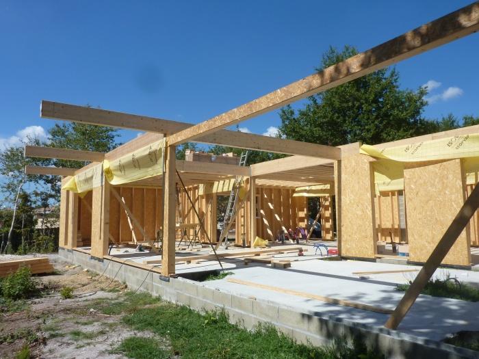 Maison S : Planchers bois