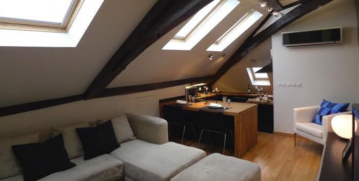 Marais studio et T2 : archinterieur marais t2 salon 1