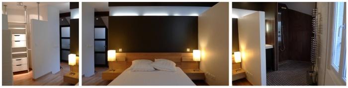 Marais studio et T2 : archinterieur marais t2 chambre 1