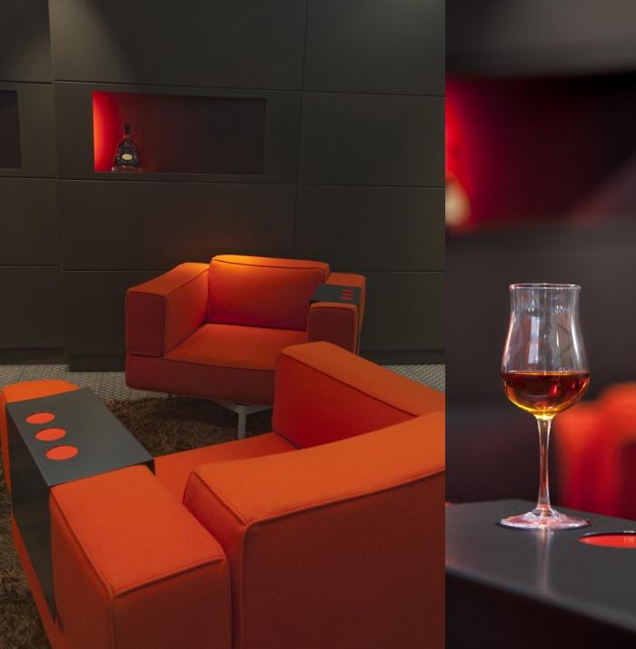 Espace de dégustation Hennessy : 031