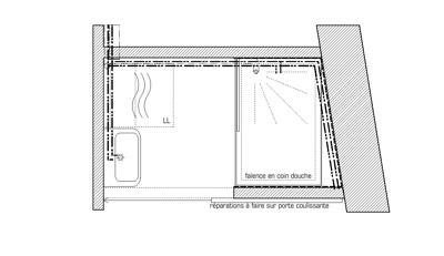 rénovation d'un appartement : salle de bain