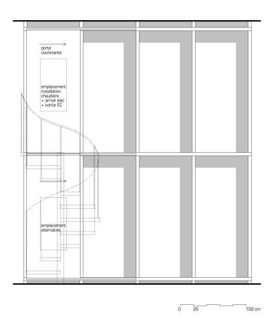 rénovation d'un appartement : bibliothèque