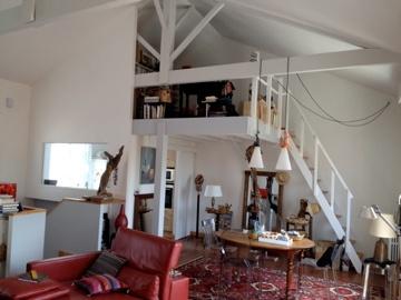 Rénovation échoppe : séjour+entrée-apres