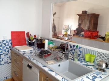 Rénovation échoppe : cuisine-après