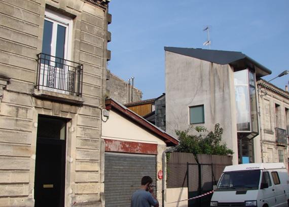 Extension et r habilitation d 39 une maison de ville for Extension maison bordeaux