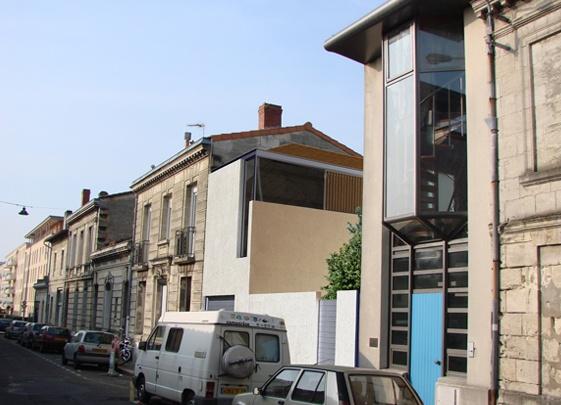 Extension et réhabilitation d'une maison de ville à Bordeaux