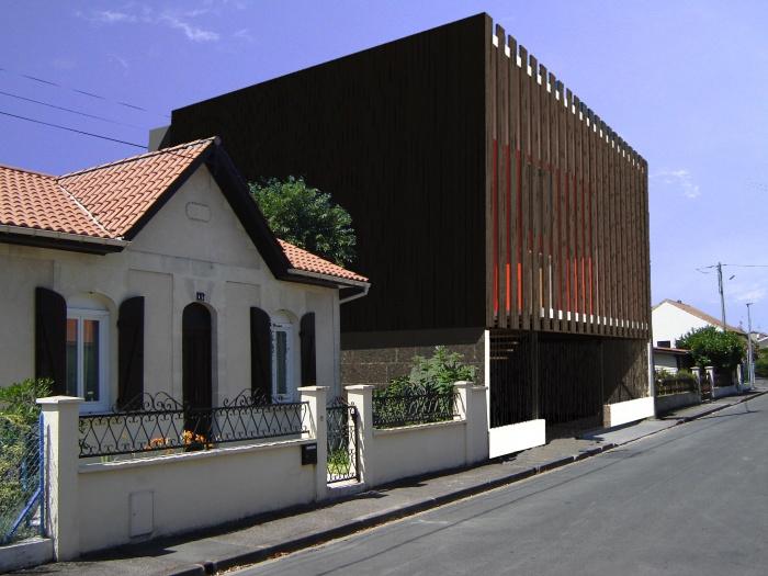 Création de 3 appartements T2 duplex