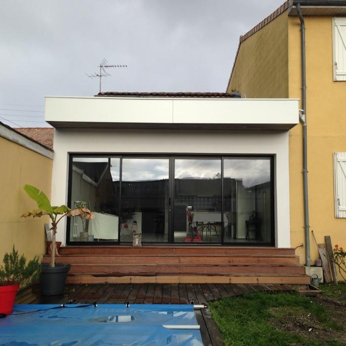 Extension Maison De Ville extension d'une maison de ville à mérignac : une réalisation de
