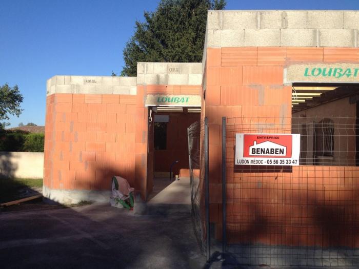 Extension d'une clinique vétérinaire : mur