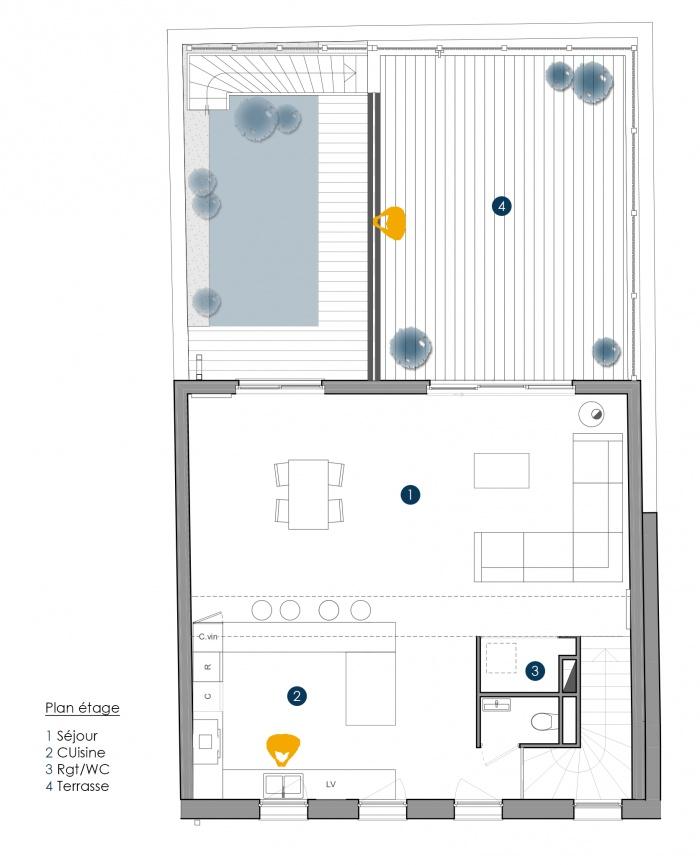 Architectes maison jos phine bordeaux for Appartement josephine bordeaux