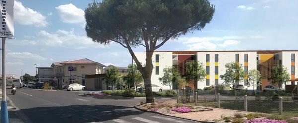 Construction d'un ensemble immobilier de 63 logements et commerce : Teich cote d argent 1_Web