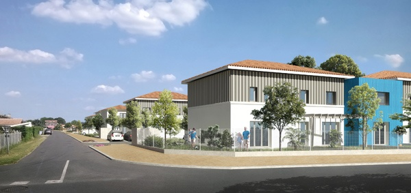 Construction d'un ensemble immobilier de 63 logements et commerce