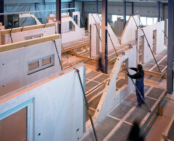 SOLFERINO, maison COMPACTE, prePASSIVE, LOW-COST : performance accrué en atelier