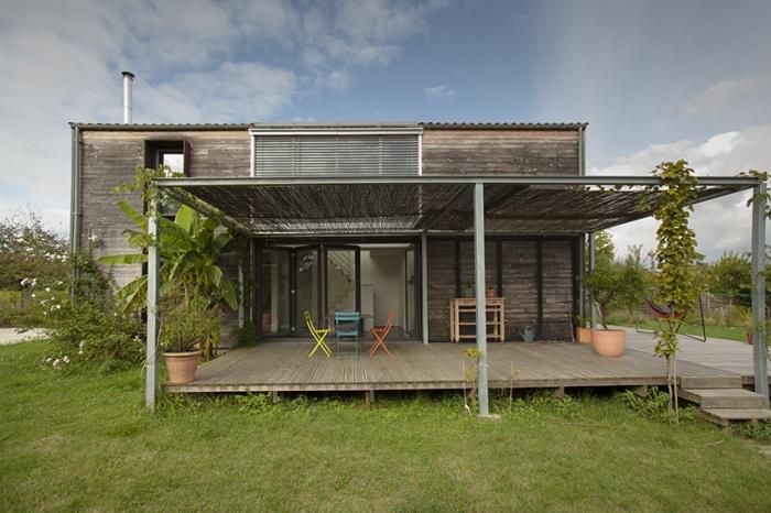 Maison passive / bois