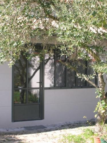 Atelier dans le jardin et rénovation de maison
