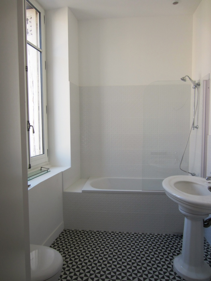 Maison N : salle de bain margo