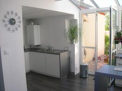 Extension de maison par la cuisine