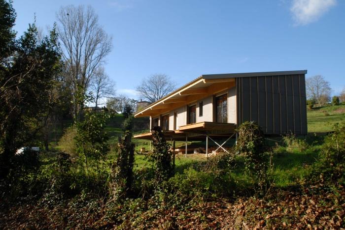 architectes maison bois individuelle 40 biscarrosse. Black Bedroom Furniture Sets. Home Design Ideas