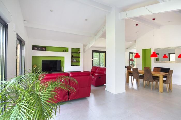 Réaménagement d'une maison d'habitation : salon2