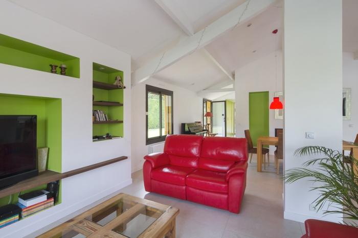 Réaménagement d'une maison d'habitation : salon3