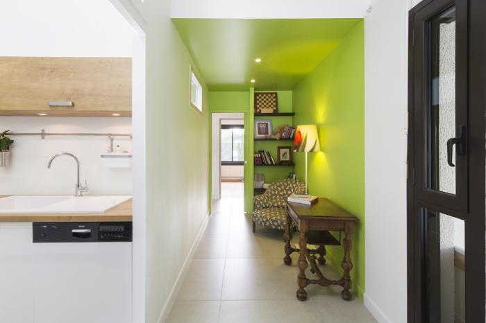 Réaménagement d'une maison d'habitation : entrée1