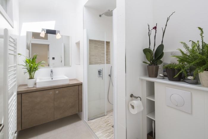 Réaménagement d'une maison d'habitation : salle d'eau